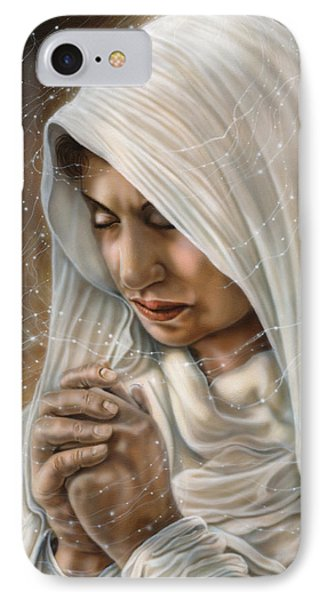 Immaculate Conception - Mothers Joy IPhone Case by Wayne Pruse