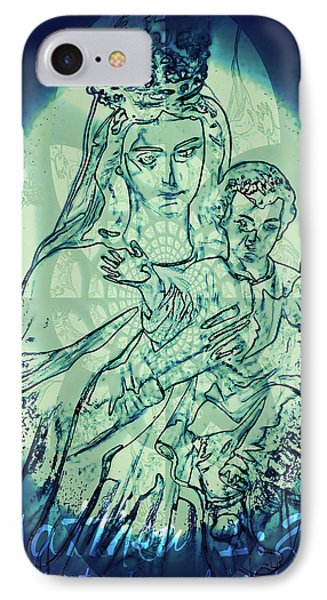 Immanuel God With Us IPhone Case by Sharon Soberon