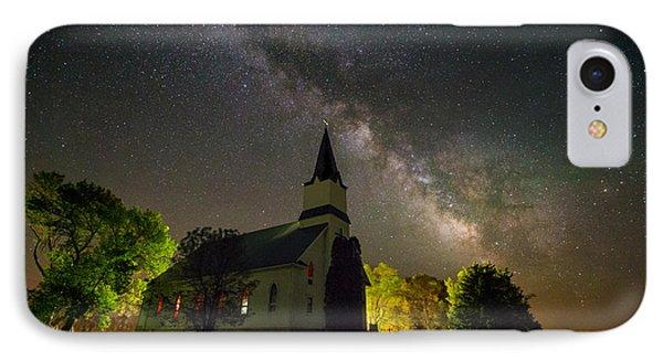 Immanuel Milky Way IPhone Case by Aaron J Groen