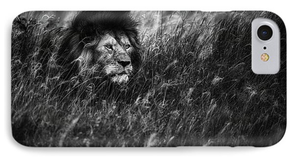 Lion iPhone 7 Case - Immortal by Mohammed Alnaser