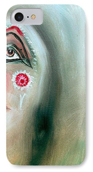 IPhone Case featuring the painting Immortal Native by Ayasha Loya