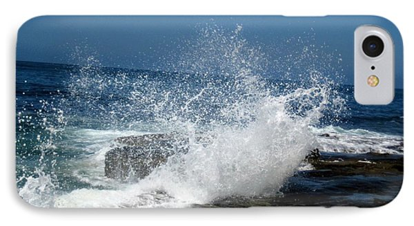 Impact Of The Sea IPhone Case