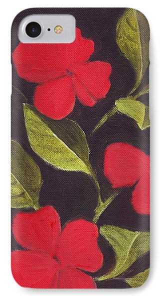 Impatiens Phone Case by Mary Adam