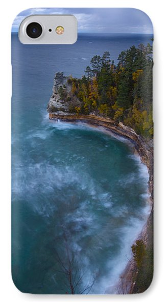 Impending Storm At Miner's Castle IPhone Case