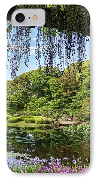 IPhone Case featuring the photograph Imperial Gardens by Kim Andelkovic
