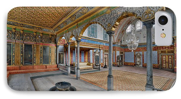Imperial Hall Of Harem In Topkapi Palace Phone Case by Ayhan Altun