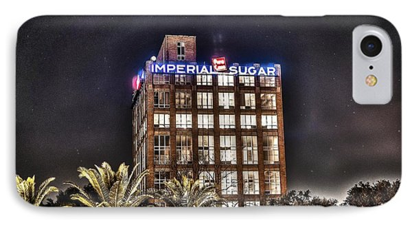 Imperial Sugar Mill IPhone Case by David Morefield