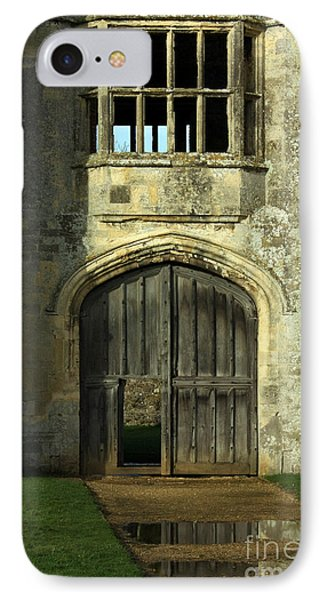 Imposing Front Door Of Titchfield Abbey Phone Case by Terri Waters