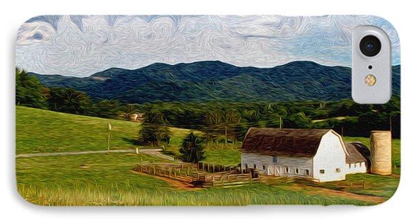 Impressionist Farming Phone Case by John Haldane