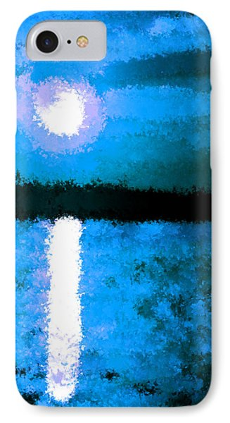 Impressionist Moonlight IPhone Case by Bruce Nutting