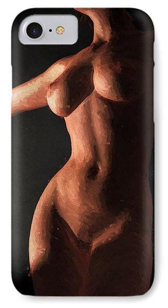 Impressionist Torso IPhone Case by Kaylee Mason