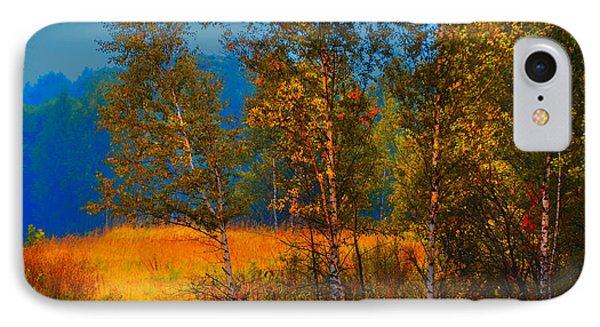 Impressionistic Autumn IPhone Case