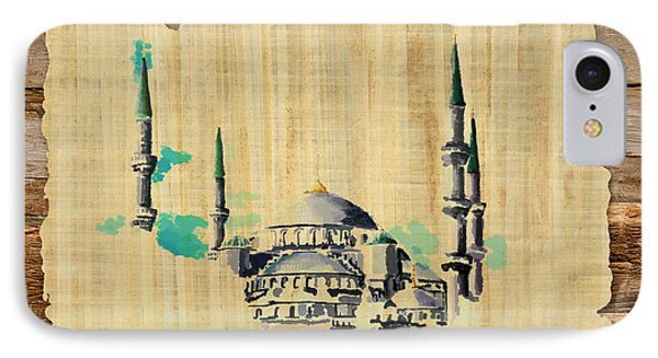 Impressionistic Masjid E Nabwi IPhone Case by Catf