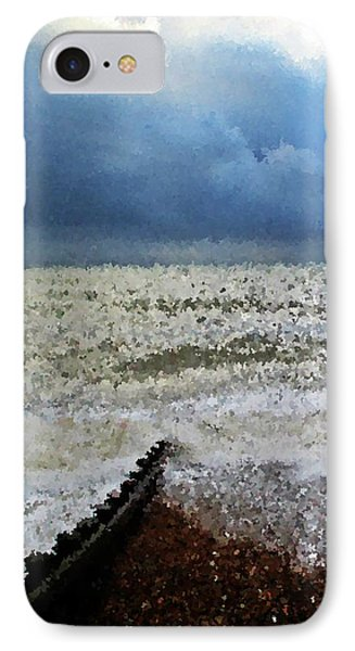 Impressionistic Ocean Phone Case by Sharon Lisa Clarke