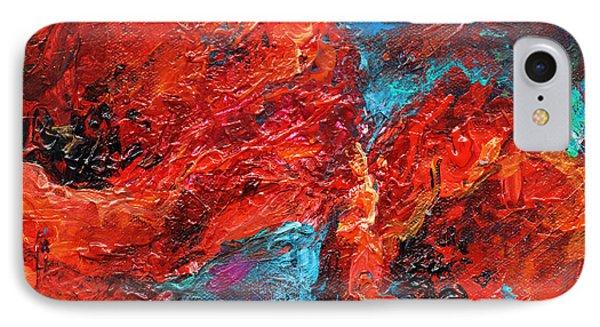 Impressionistic Red Poppies IPhone Case by Svetlana Novikova