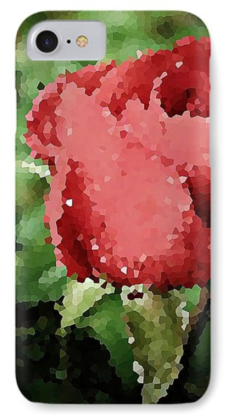 Impressionistic Rose Phone Case by Chris Berry