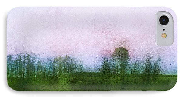 Impressionistic Style Of Trees Phone Case by Roberta Murray