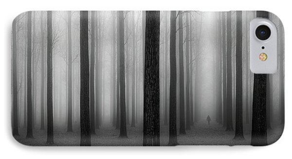 In A Fog IPhone Case