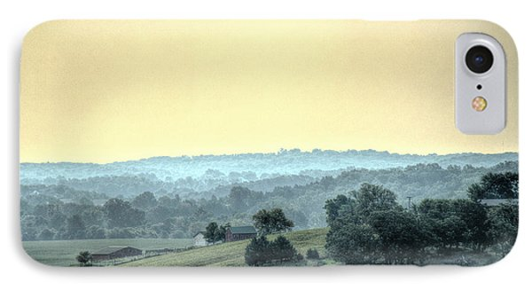 In A Misty Hollow IPhone Case by William Fields