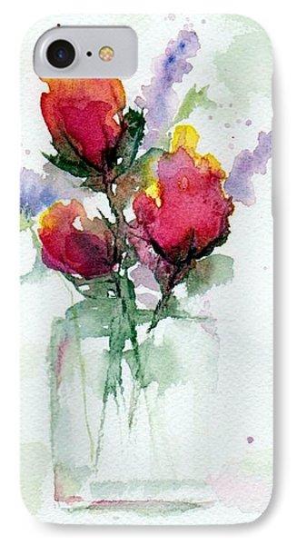 In A Vase IPhone Case by Anne Duke