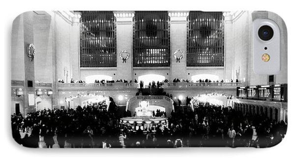 In Awe At Grand Central IPhone Case by James Aiken