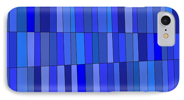 In Blue Please IPhone Case by Jeff Gater