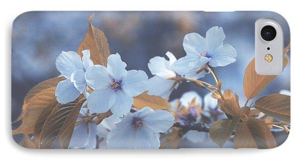 In Blue IPhone Case by Rachel Mirror