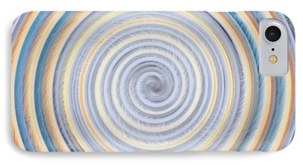 In Circles IPhone Case by Helena Tiainen
