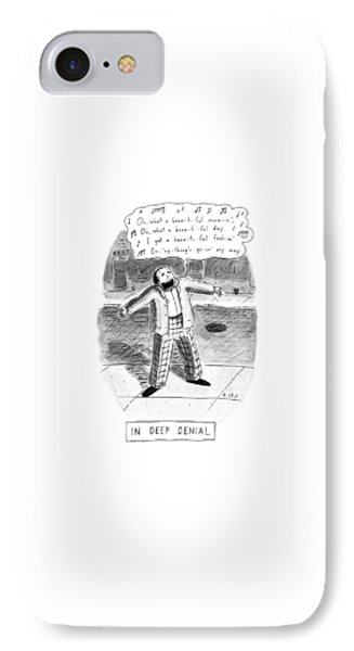 In Deep Denial Oh IPhone Case by Roz Chast