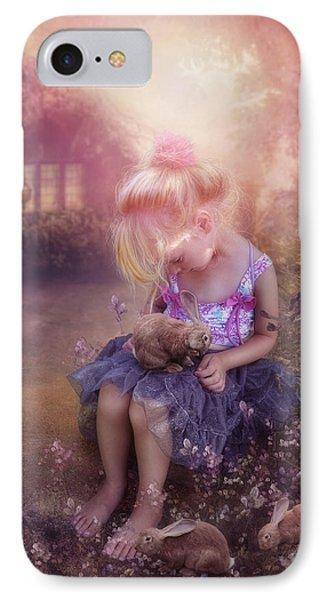 In Fairy Tales Phone Case by Cindy Grundsten