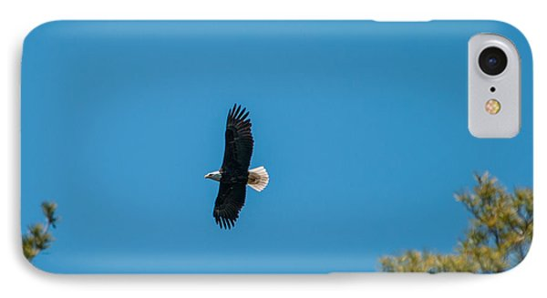 IPhone Case featuring the photograph In Flight by Brenda Jacobs