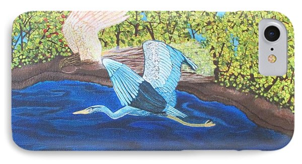 In Flight IPhone Case by Cheryl Bailey