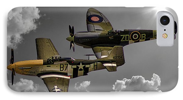 In Flight IPhone Case by Martin Newman