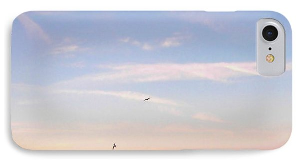 IPhone Case featuring the photograph In Flight Over Rehoboth Bay by Pamela Hyde Wilson