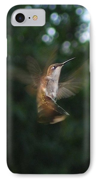 IPhone Case featuring the photograph In Flight by Photographic Arts And Design Studio
