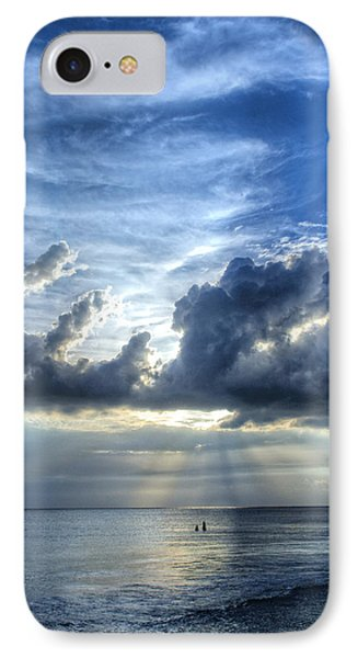 In Heaven's Light - Beach Ocean Art By Sharon Cummings IPhone Case by Sharon Cummings