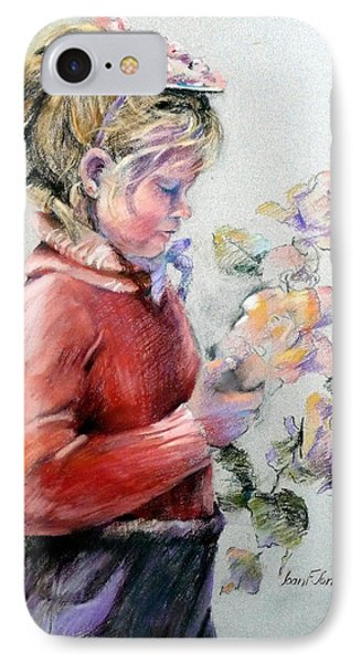 In Her Easter Bonnet IPhone Case by Joan  Jones