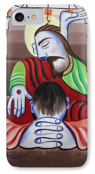 In Jesus Name Phone Case by Anthony Falbo