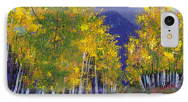 In Love With Fall River Road IPhone Case by Margaret Bobb