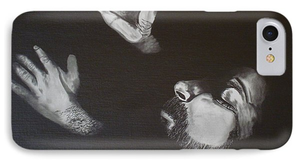 IPhone Case featuring the painting In Memory Of My Father by Stuart Engel