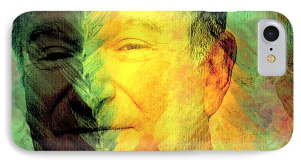 In Memory Of Robin Williams Phone Case by Ally  White