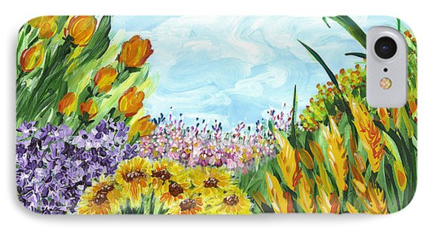 In My Garden IPhone Case by Holly Carmichael