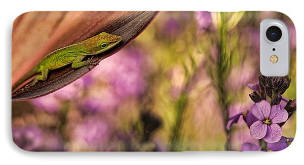 In My Garden Phone Case by Linda D Lester
