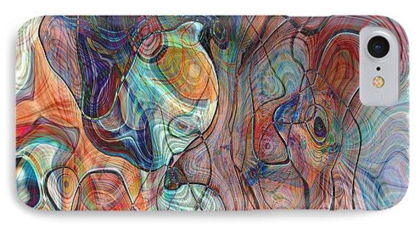 In My Minds Eye Phone Case by Susan Leggett