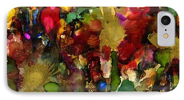 In My Sister's Garden Phone Case by Angela L Walker