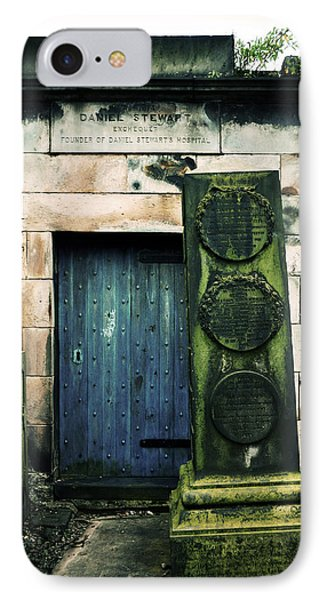 In Old Calton Cemetery Phone Case by RicardMN Photography