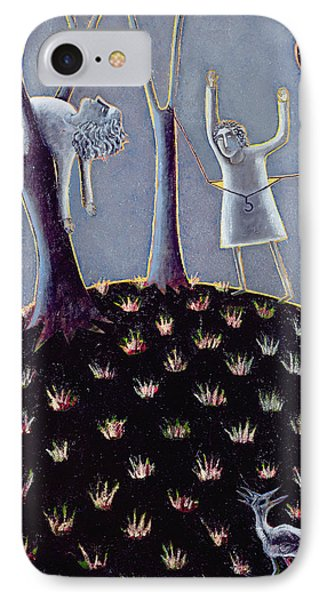 In Praise Of Expectation, 1991 Oil On Canvas IPhone Case