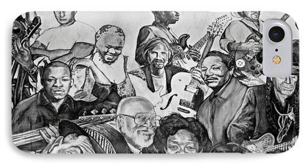 In Praise Of Jazz V Phone Case by Steve Harrington