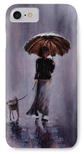 In Rain Or Shine IPhone Case