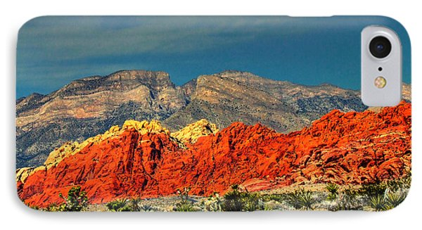 In Red Mountain 1 IPhone Case